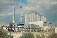 Champagne-sur-Oise Power Station in the 1960s