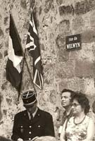 Inauguration of Rue de Welwyn 1973