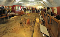 Roman Baths at Welwyn
